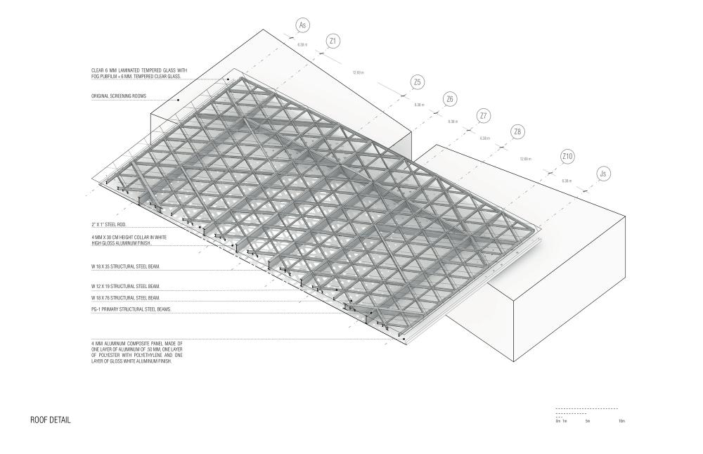 Cineteca Nacional Siglo Xxi Rojkind Arquitectos Detail Pinterest Diagram And Architecture Drawings