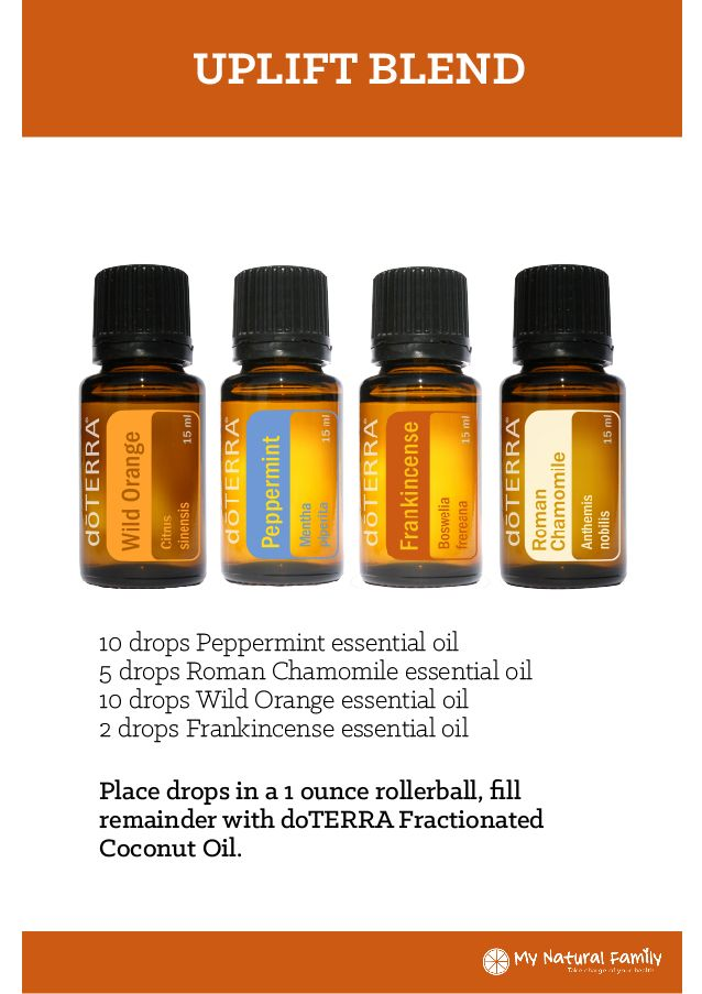 Doterra Uplift Blend Recipe Doterra Wild Orange