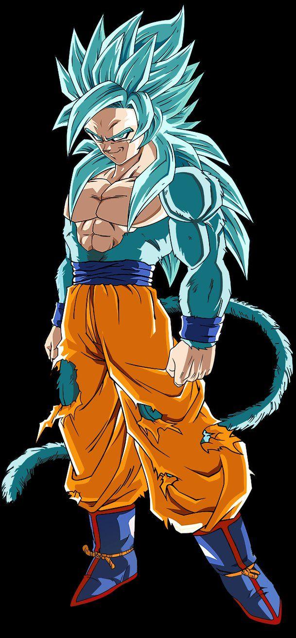 Super Saiyan God Super Saiyan 4 Goku By Ajckh2 Goku Desenho