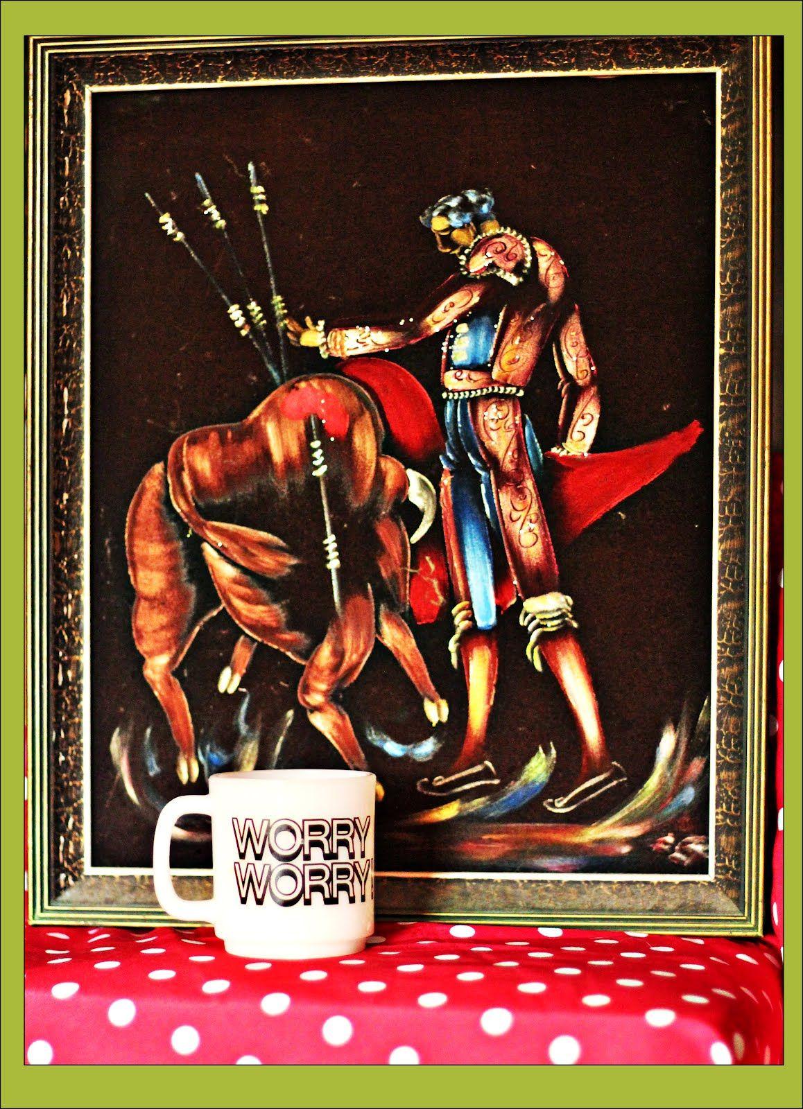 Loads of Bull: $3.50 kitsch | Thrift Trick