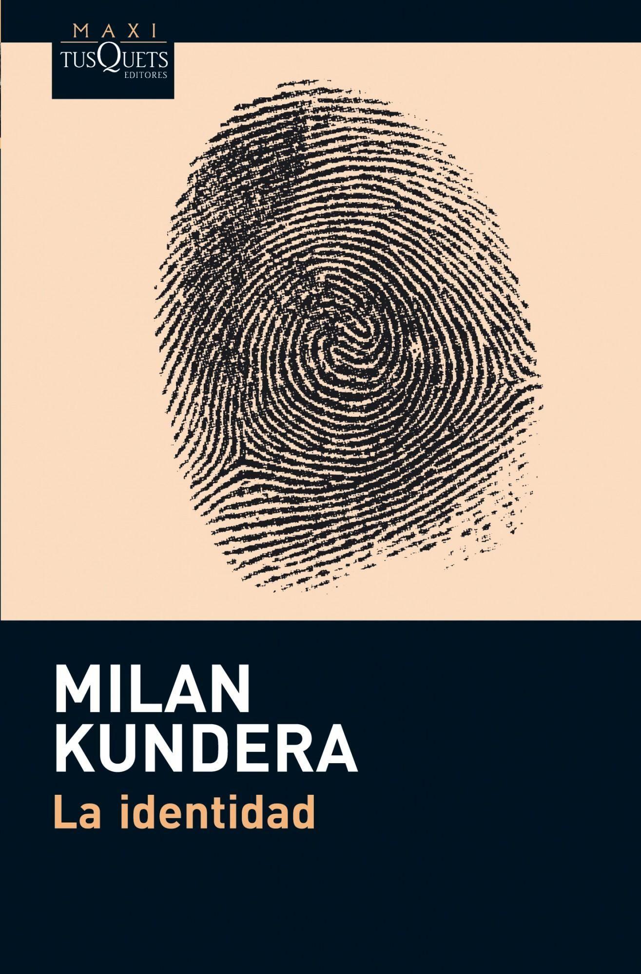 La Identidad-milan Kundera-9788483836002 (con Imgenes)