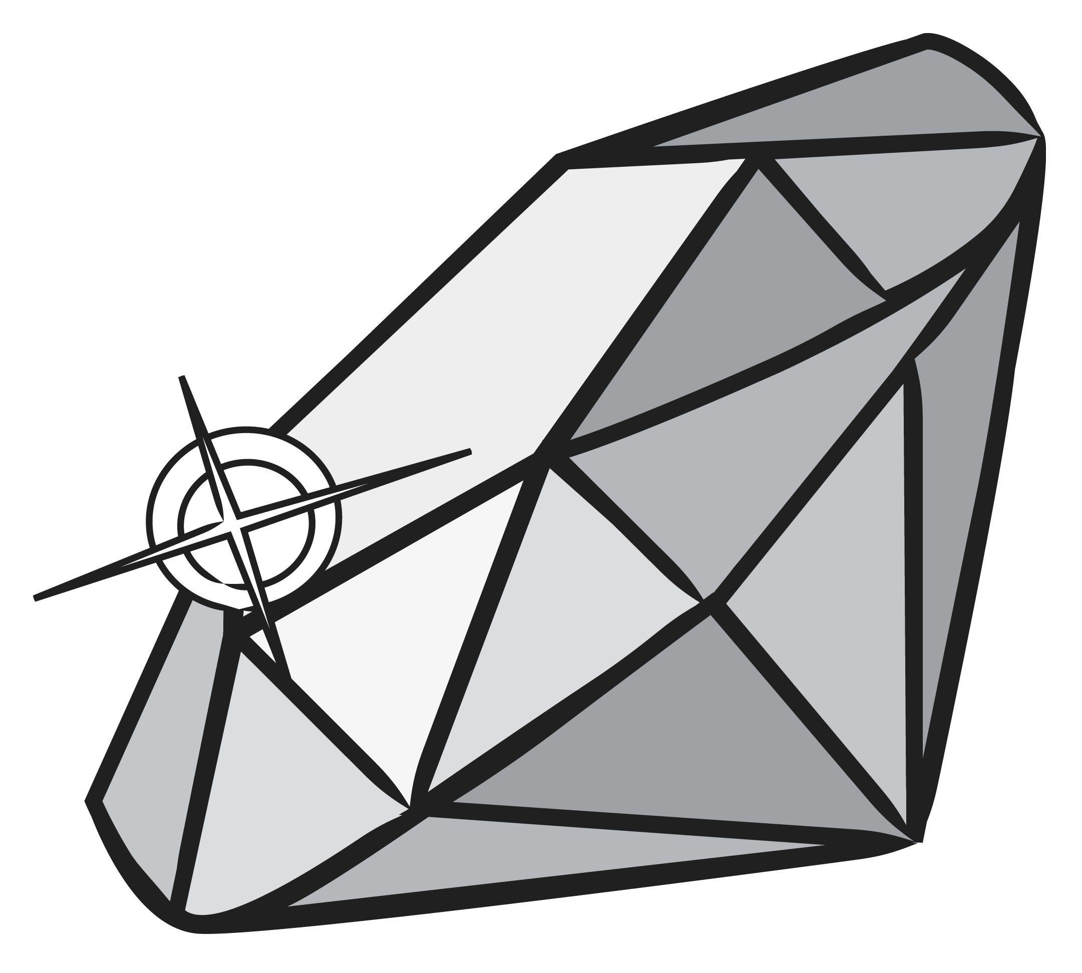 Draw a Diamond Diamond drawing, Black diamond tattoos