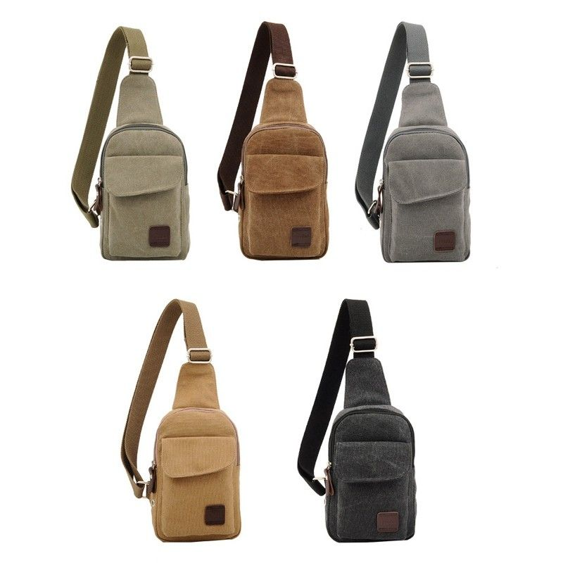 New Men Sling Bag Sport Chest Pack Messenger Shoulder Bag Outdoor ...