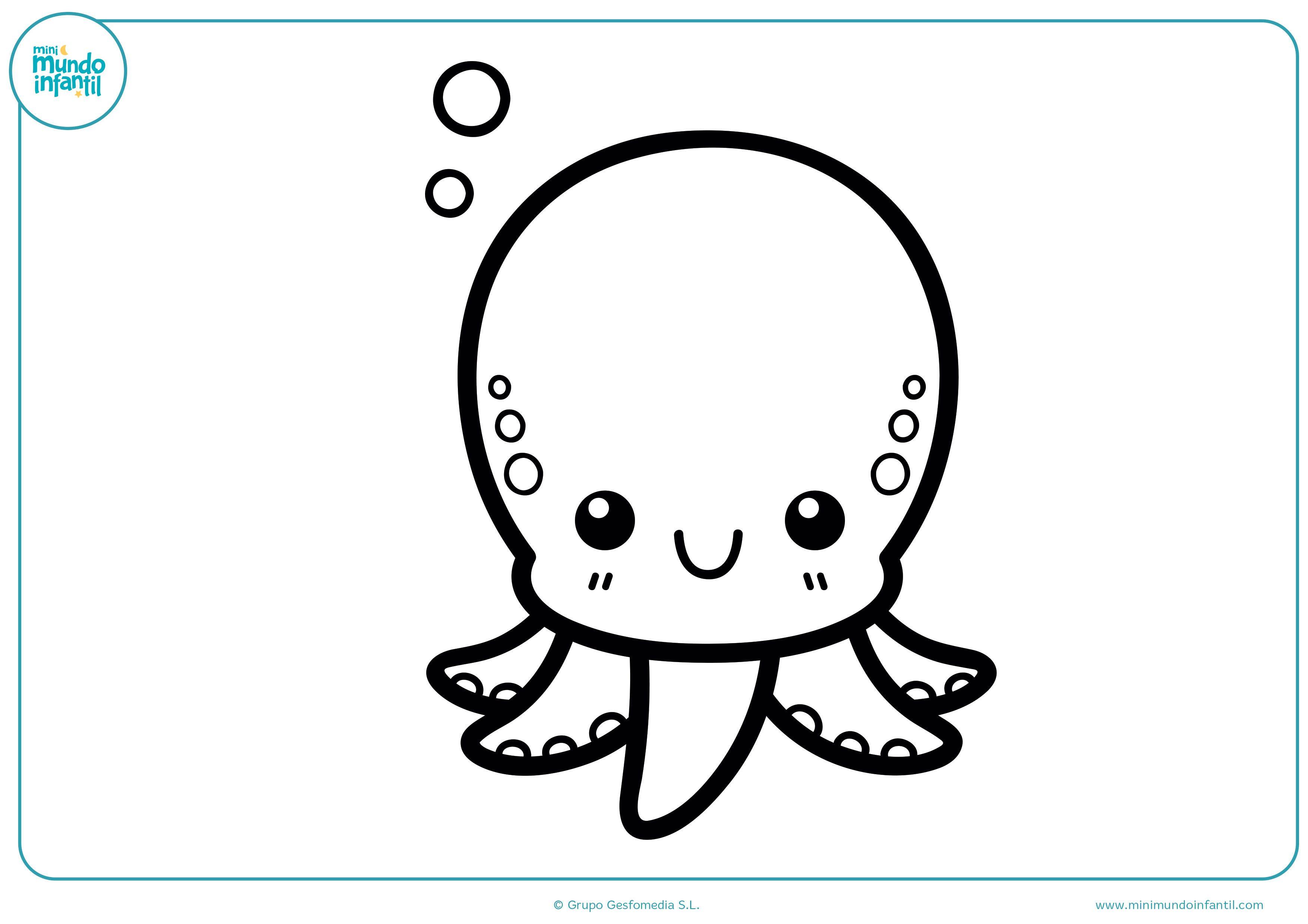 Dibujos De Animales Marinos Para Colorear Dibujos De Animales