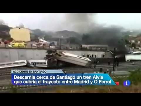 Eκτροχιάστηκε τρένο στην Ισπανία, 77 νεκροί και εκατοντάδες τραυματίες