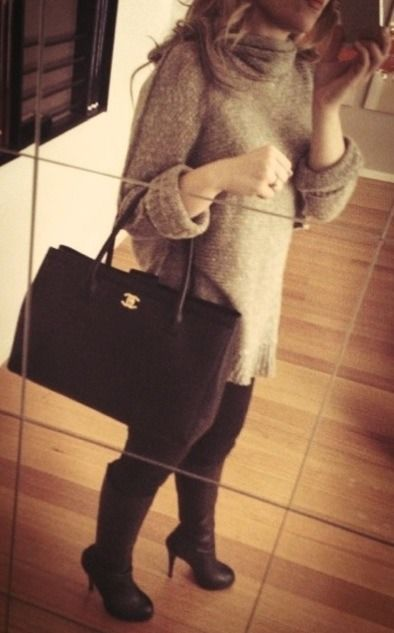 1b9bd7d08efb Chanel Tote bag 140,48 best replica www.ioffer.com OMG ik wil die tas :O