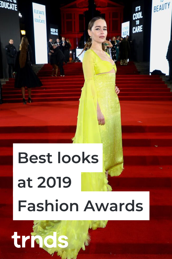 28 Best Outfits From Fashion Awards 2019 Red Carpet Fashion Inspiration And Discovery Fashion British Fashion Awards Red Carpet Fashion