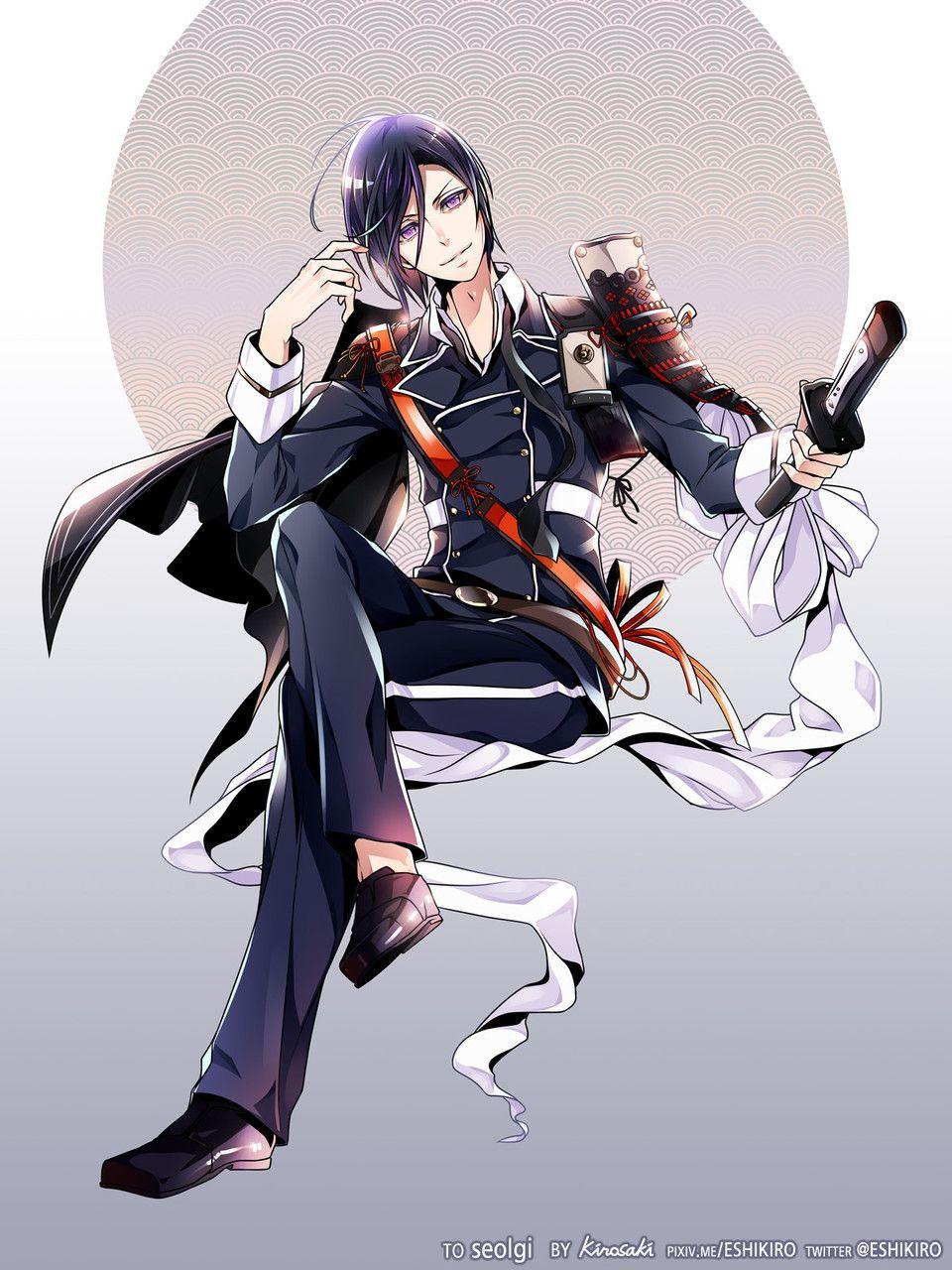 1705 023 アニメ 男性 薬研 薬研ニキ