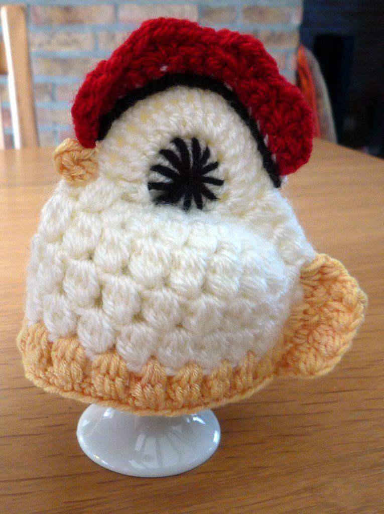 Gehaakte Eierwarmer Kip Haken Croché En Hogar Crochet