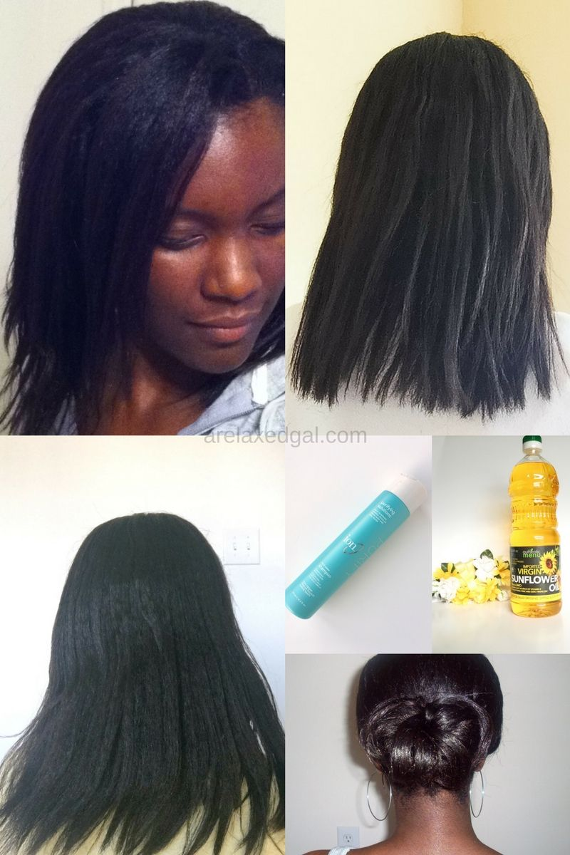 7 Ways To Thicken Relaxed Hair! #hairlista #relaxedhair | Healthy ...