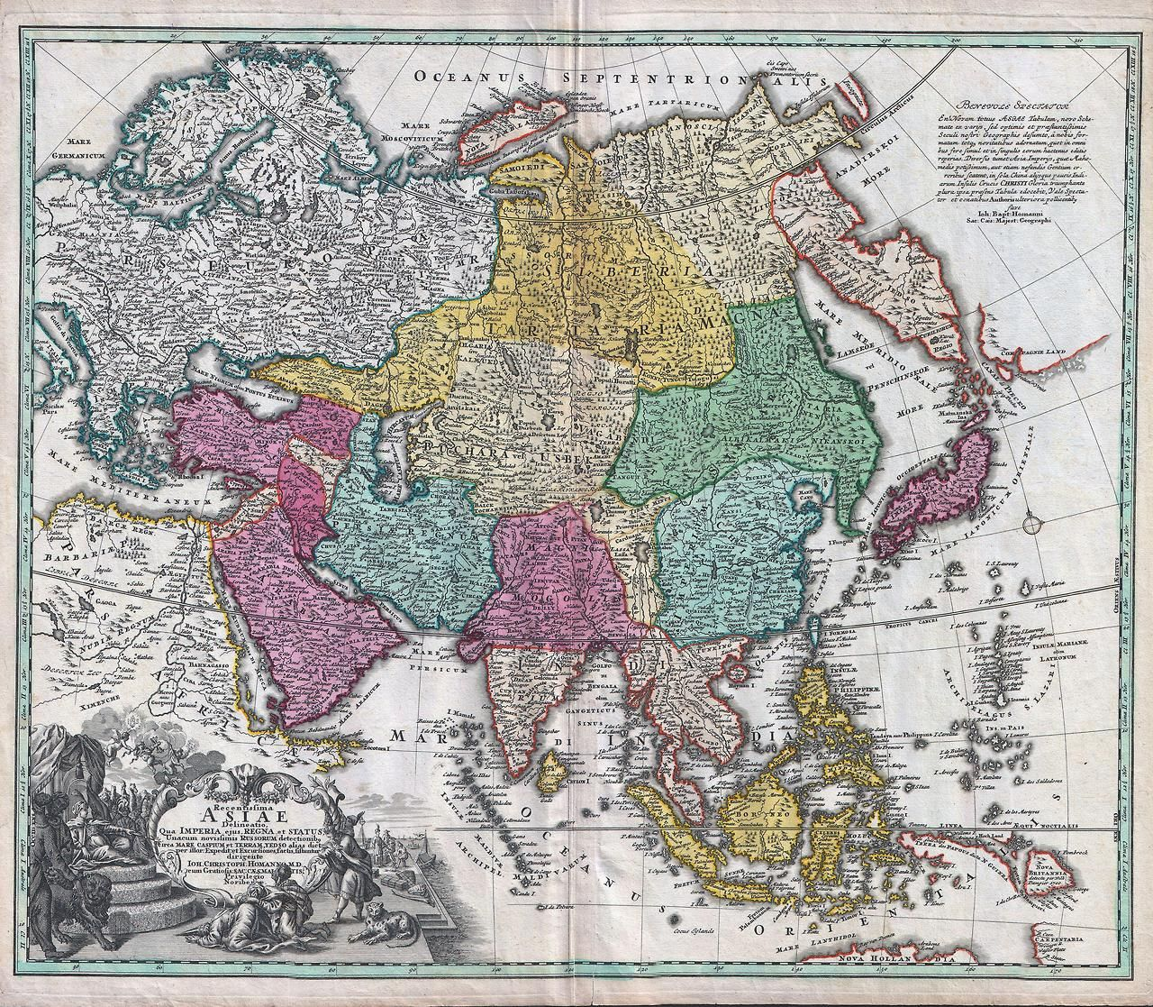 Explore Map Of Asia Map Globe and