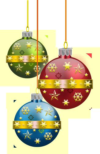 CHRISTMAS ORNAMENTS CLIP ART   Kerstballen, Kerst ...