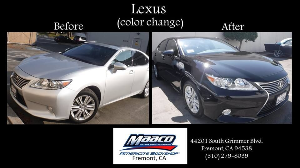 pin by fremont maaco on 2016 work lexus collision repair car painting pinterest