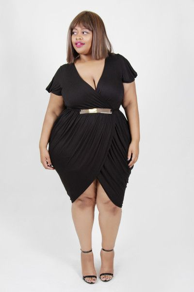 Plus Size Clothing for Women - On the Town Dress by Sabrina Servance (Sizes 14 - 20) - Society+ - Society Plus