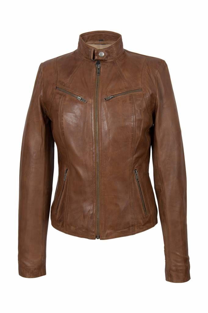 Leren Jas Dames Bruin.Leren Jas Dames Bruin 8 Leder Jas Leather Jacket Jackets En Leather