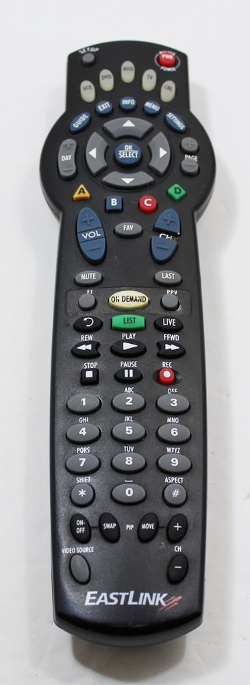 how to program eastlink remote to tv
