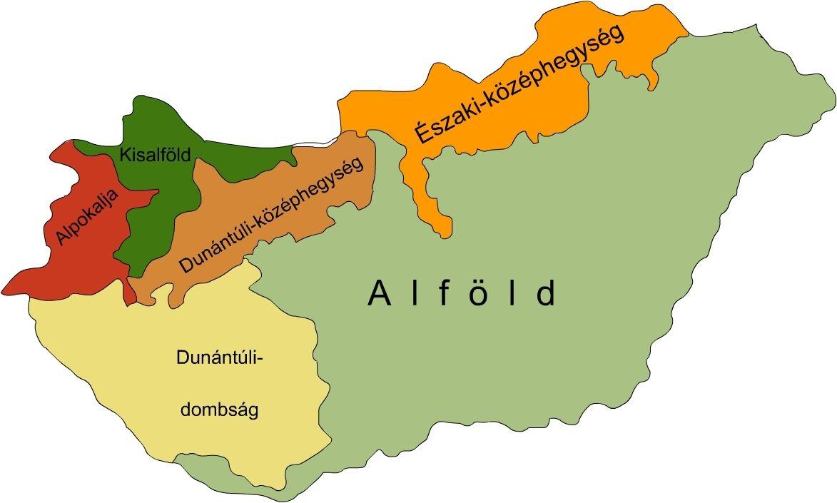 magyarország nagytájai térkép Jigsaw Pla  Kata1018   interaktív   Mo domborzati térképe  magyarország nagytájai térkép