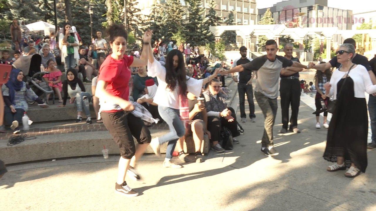 Girls Leading Lebanese Dabke Dance Youtube Dance Scenes