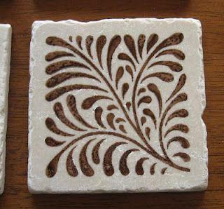 fossil like pattern