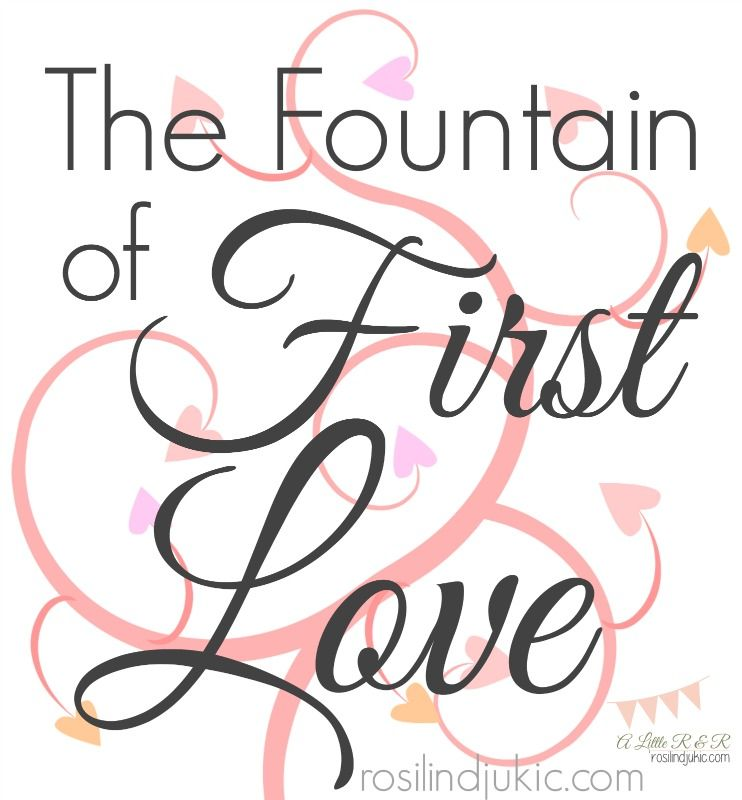 We can only really love with God's Agape love when continually keep our first love renewed and burning in our hearts!