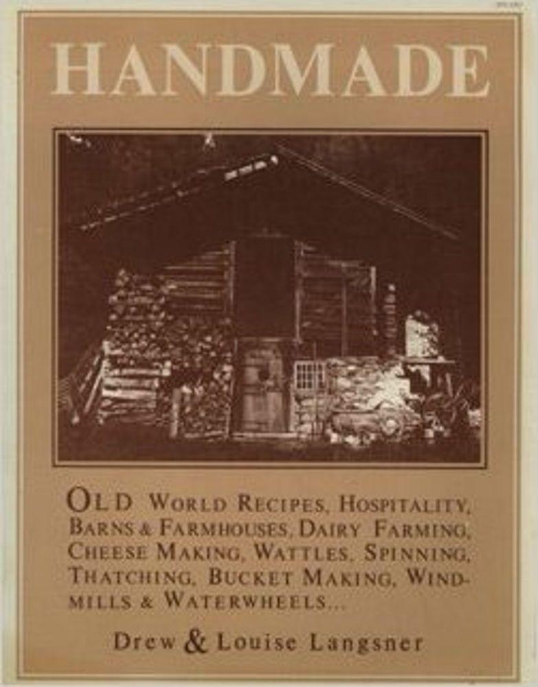Handmade Vanishing Cultures Of Europe Langsner Old World Recipes Baking 1974