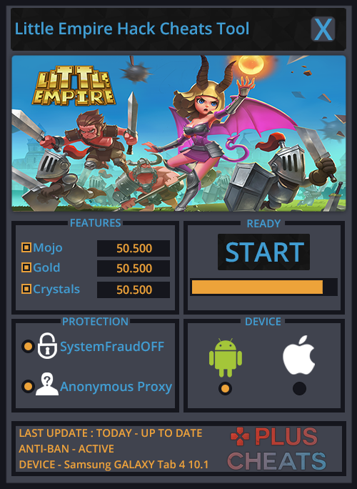 Little Empire Hack Cheats Add Unlimited Mojo Gold And Crystals Hello There And Welcome Let Me Present You The New Little Empire Empire Games Empire Cheating