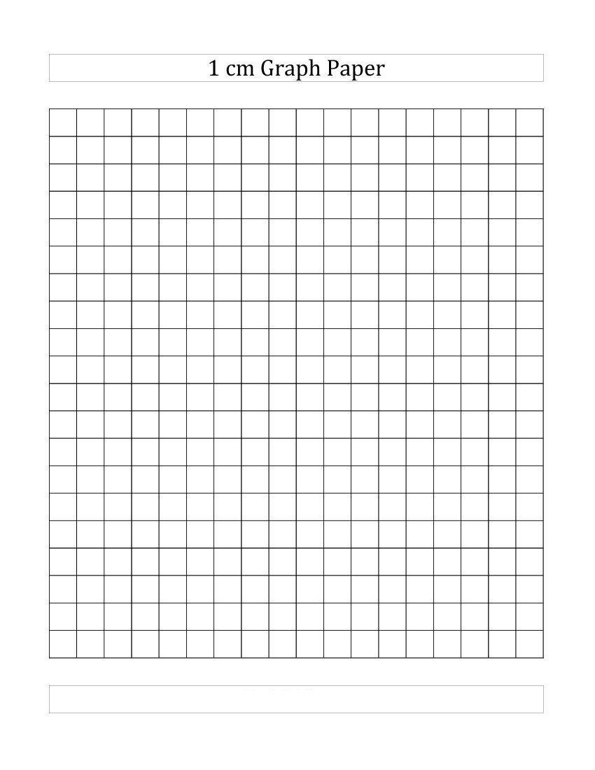 4 Free Printable 1 Cm Centimeter Graph Paper 1 Cm Grid Inside 1 Cm Graph Paper Template Word Printable Graph Paper Graph Paper Bar Graphs