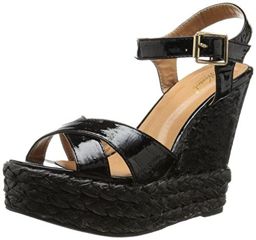 b8bd509681d2 New Wanted Shoes Women s Brandy Wedge Sandal