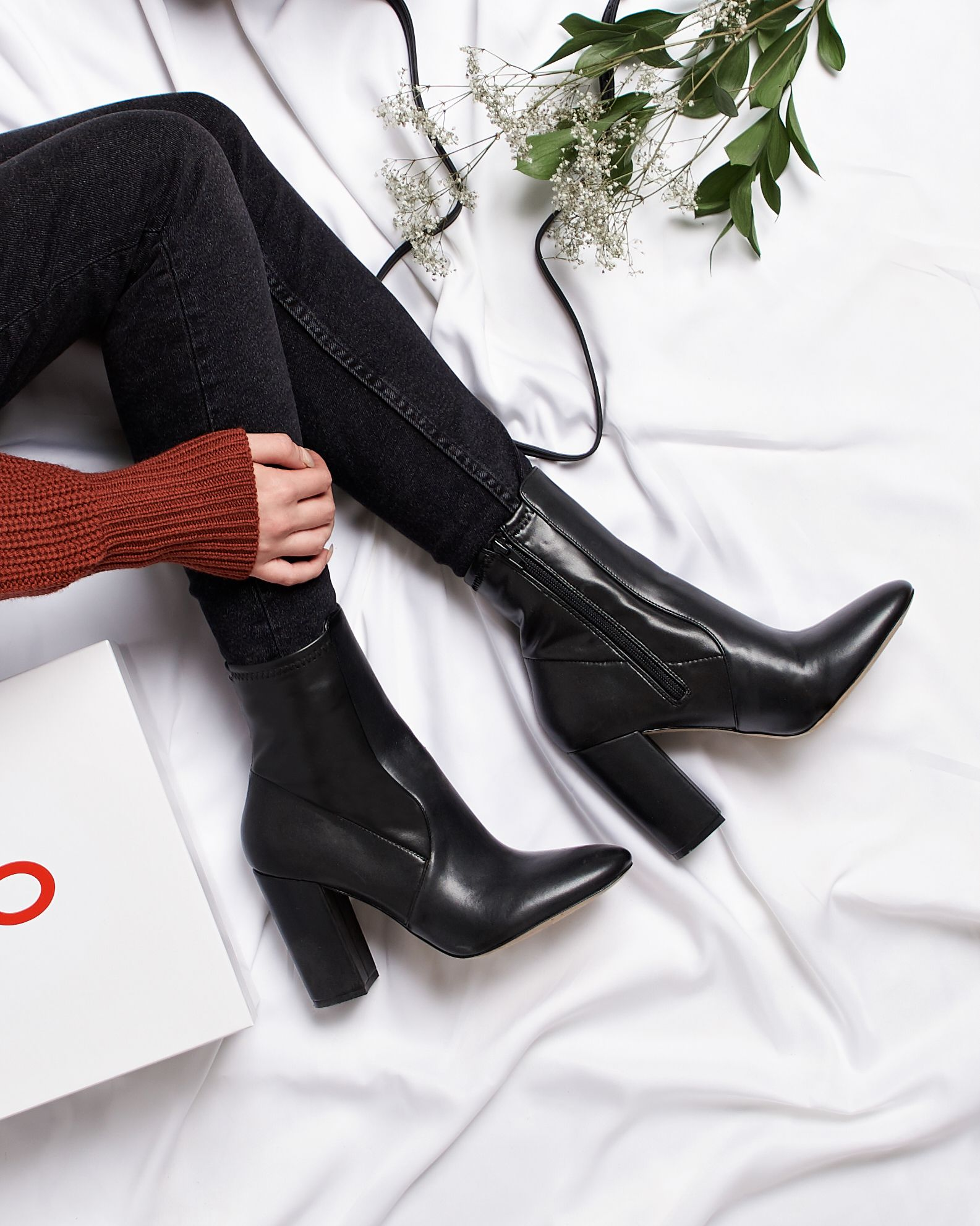 b681ec54966 Step up your fall style in our Aurella boot-- with its almond toe