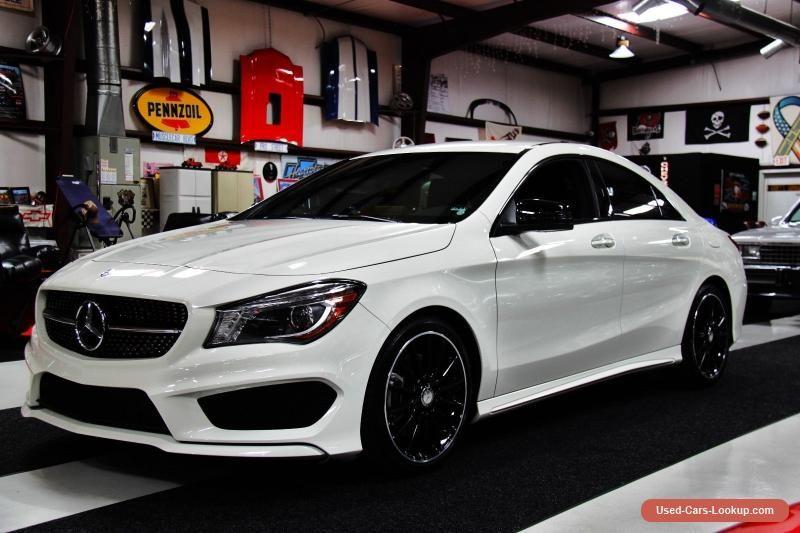 Car For Sale 2016 Mercedes Benz Cla250 Sport Sedan 4 Door