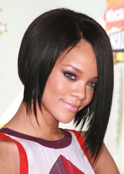 Rihanna Short Haircut Curly Black Bob Hairstyles Hairstyles Weekly Rihanna Short Haircut Rihanna Short Hair Bob Hairstyles