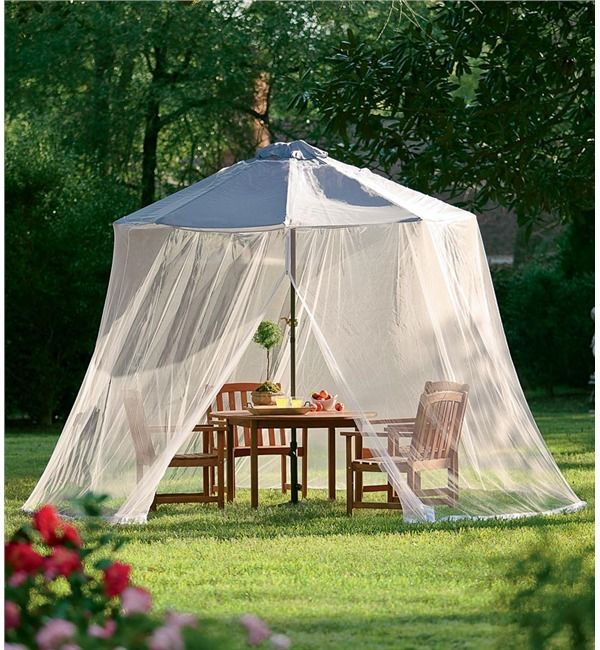 Umbrella Mosquito Net Outdoor Curtains Canopy Outdoor Outdoor Umbrella