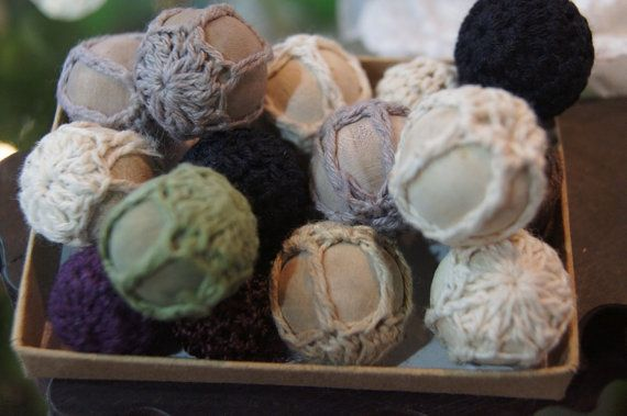 SALE  Handmade Fabric Crochet Assorted Round by dollarsupplies, $2.00