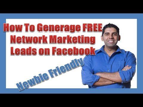 How To Generate FREE Network Marketing Leads On Facebook | MyOnlineBiz4U2