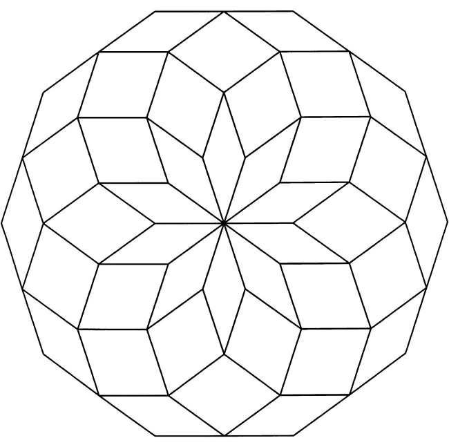 Geometric Shapes To Color Geometric Coloring Pages Mandala Coloring Pages Abstract Coloring Pages