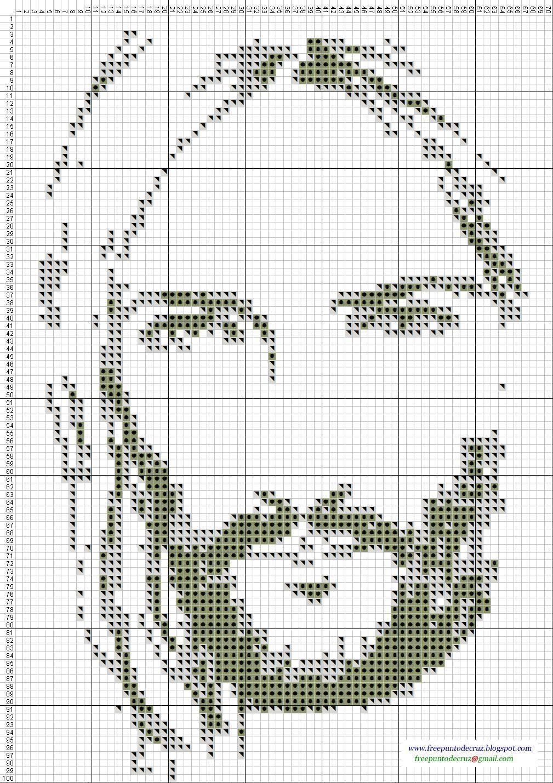 Dibujos Punto de Cruz Gratis: Religiosos | cruces | Pinterest ...