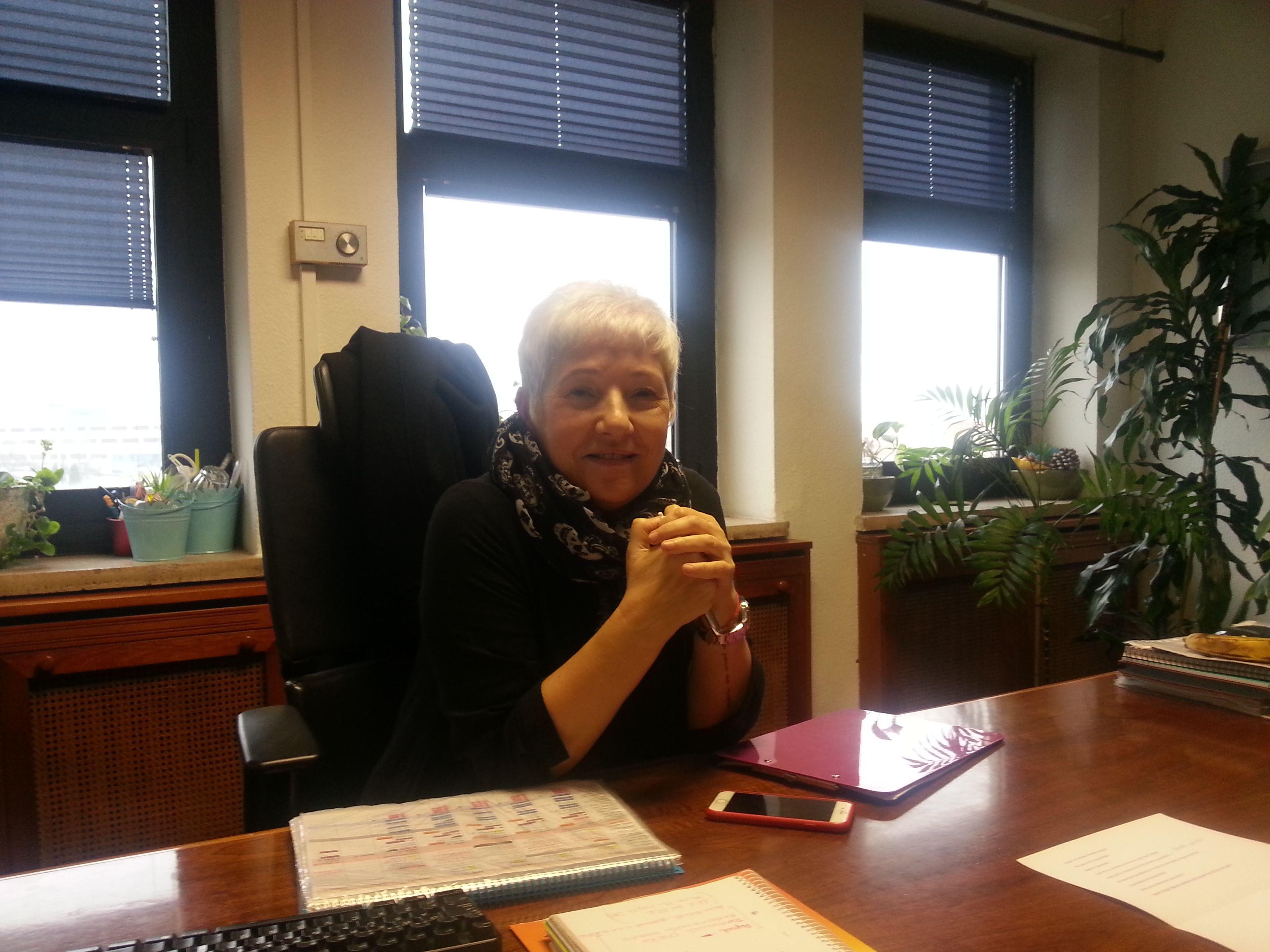 Carmen Álvarez Lozano, directora del programa Aquí hay trabajo que se emite por la segunda cadena de Televisión Española desde hace dos décadas