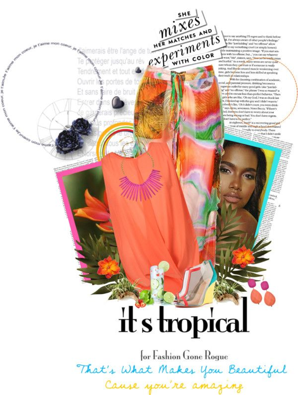 """Tropical Faze"" by holjon2110 ❤ liked on Polyvore"