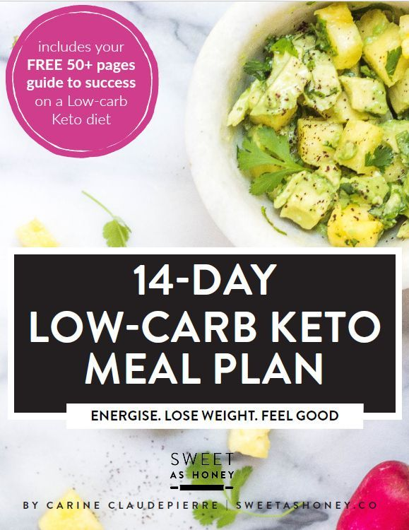 14 Day Low Carb Meal Plan