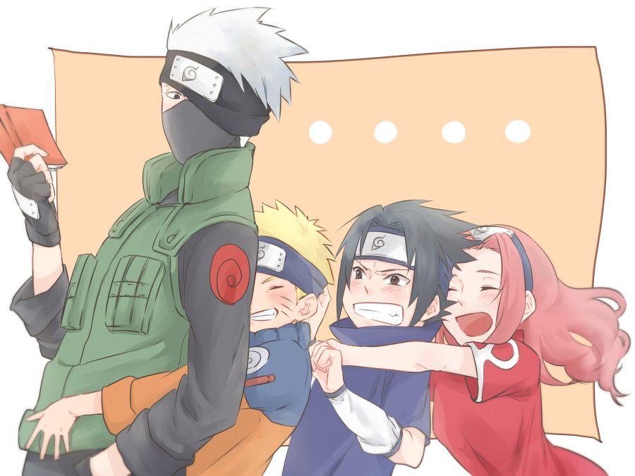 Team 7 Full 1946518 Jpg 900 675 Anime Naruto Naruto Anime