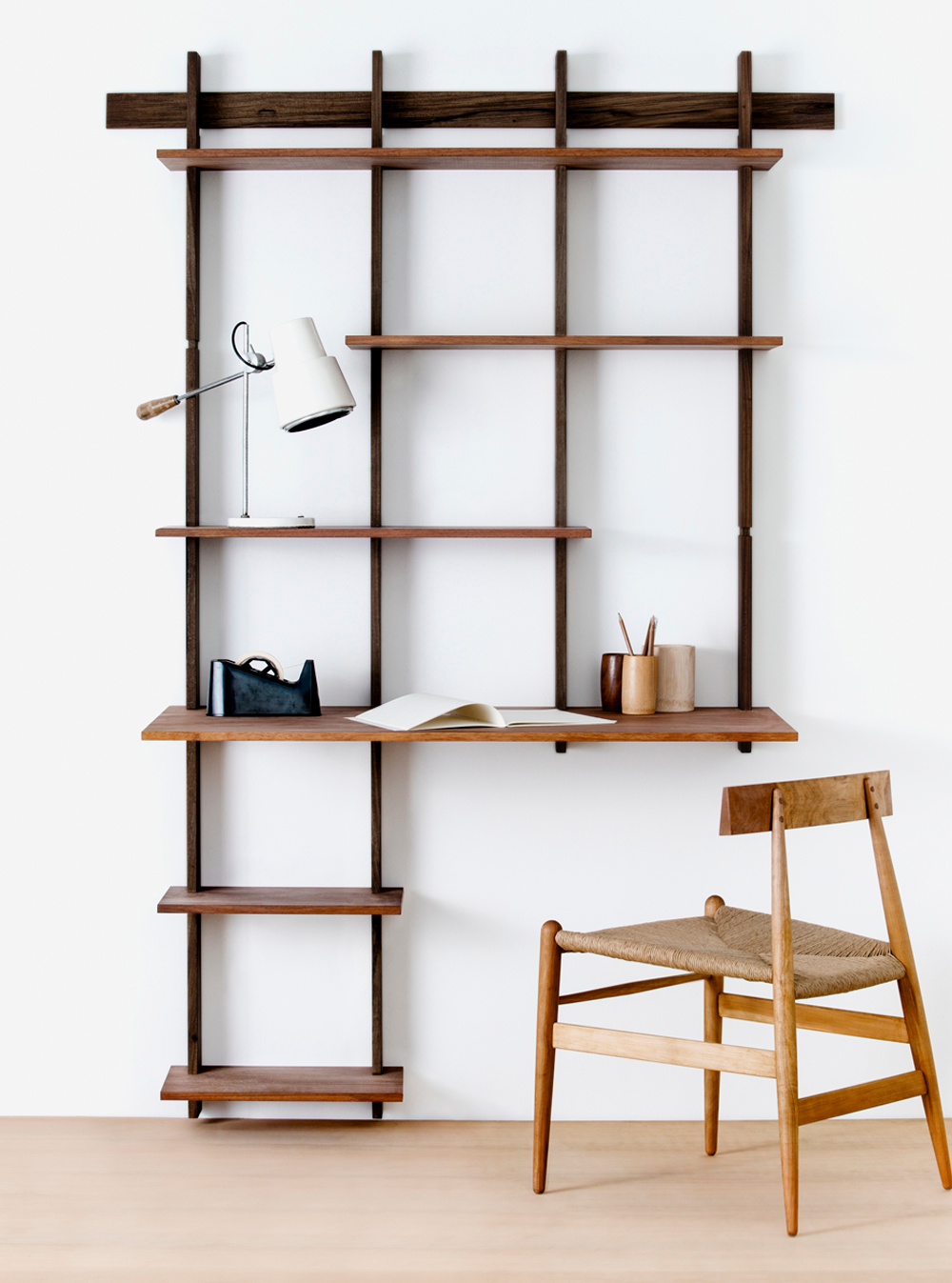 Sticotti Bookshelf Kit G Sticotti Modular Furniture Shelving Modular Shelving