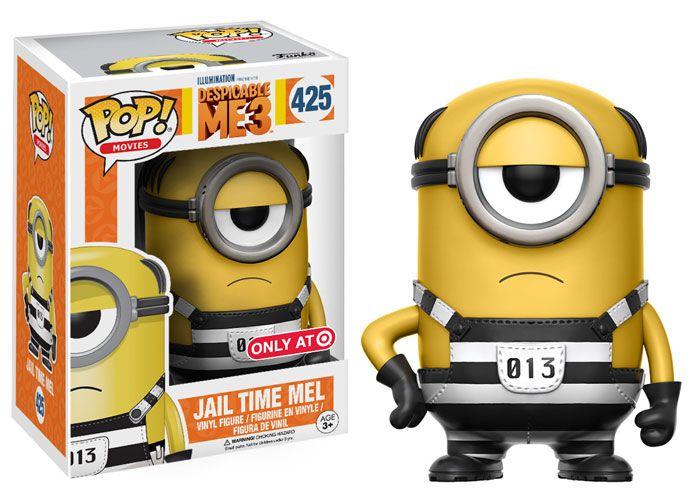 POP Movies Despicable Me 2 Fire Alarm Minion Action Figure FunKo Free Shipp