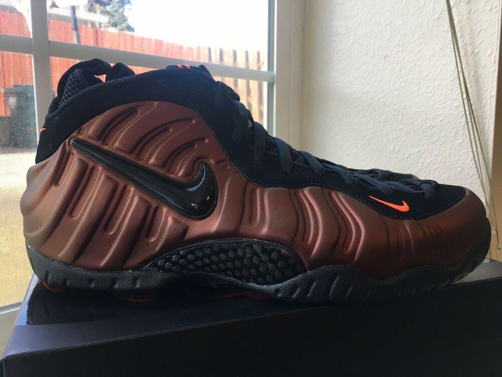 new style ce6e8 d9052 Nike Air Foamposite Pro Hyper Crimson Black 624041-800 Men s Size 12  shoes