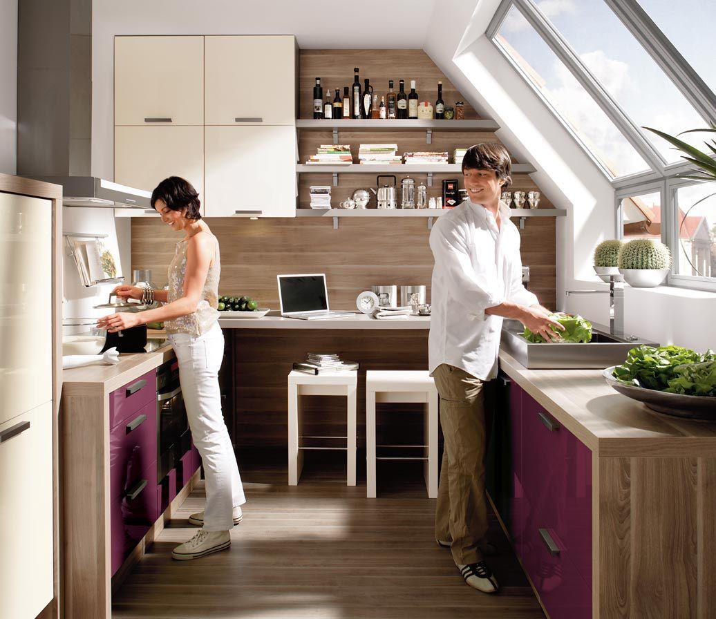 CHICAGO So Nah Waren Sich Küche Und Wohnzimmer Noch Nie - Nolte wohnzimmer