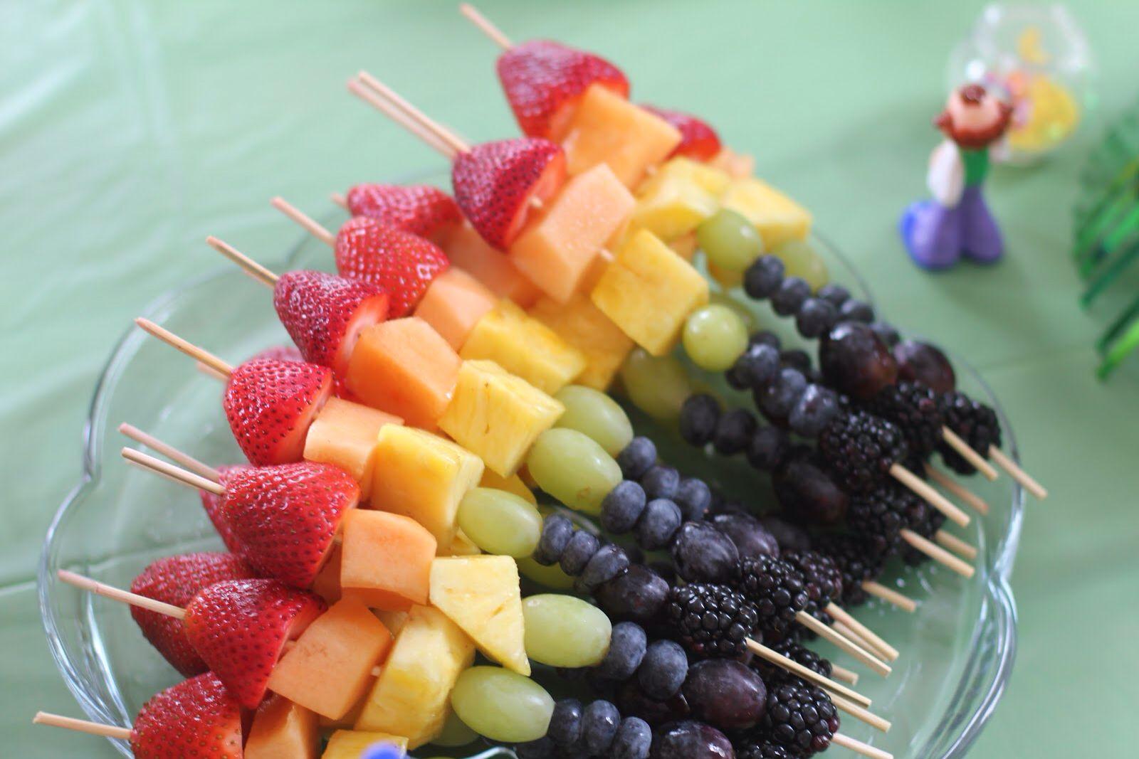Fruit Kabobs Sesame street birthday, Sesame street