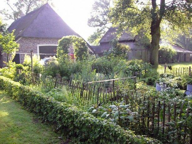 Mooie boeren moestuin tuin pinterest boeren tuin en for Mooie tuinen afbeeldingen