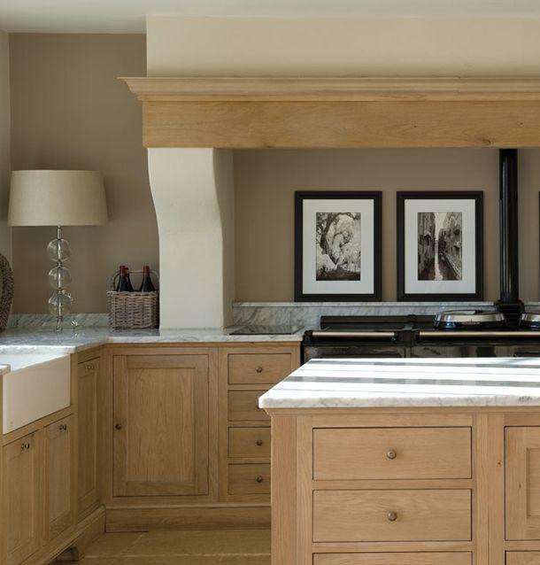 Remodeling Oak Kitchen Cabinets: Stunning Hand Painted & Solid Oak