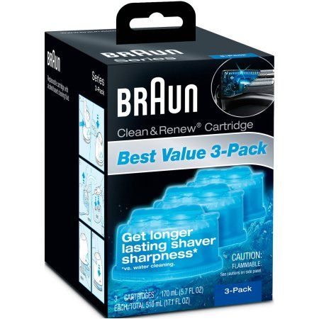 Personal Care Braun Clean Renew Cleaning Cartridge Refilling