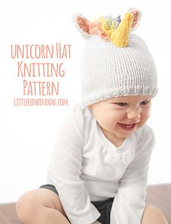 fe3c432bae3 Ravelry  Magical Unicorn Hat pattern by Cassandra May