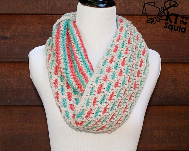 Ravelry Trail Stitch Cowl Free Pattern By Katy Petersen Crochet